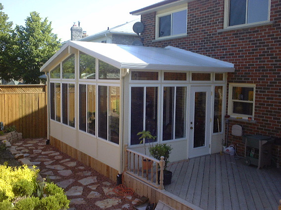 3 Season Sunroom Glass Aztec Enclosures Sunrooms