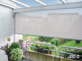 Stobag vertical shade from Aztec Enclosures