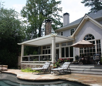 Louvered Roof Aztec Enclosures Sunrooms